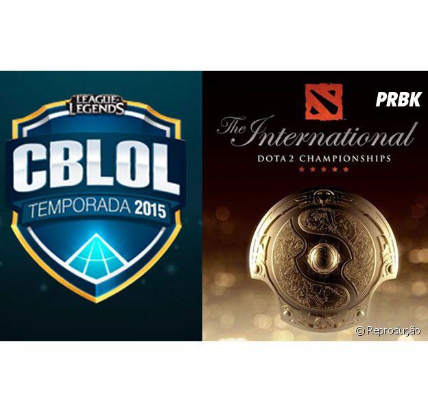 """Resultado da final do Campeonado Brasileiro de """"League Of Legends"""" e do Internacional de """"Dota 2"""""""