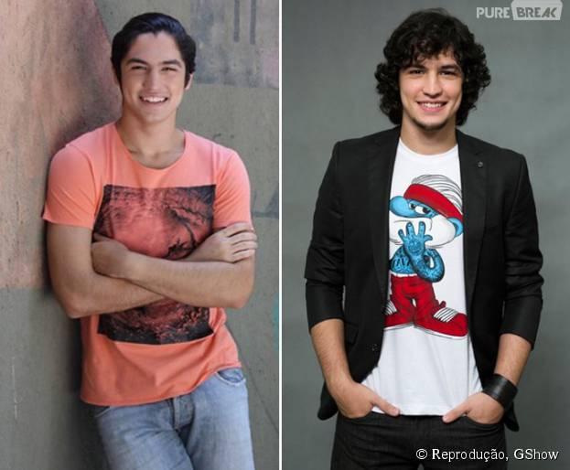 """No ar em """"Verdades Secretas"""", Gabriel Leone estreou nas telinhas em """"Malhação"""""""