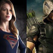 """Séries """"Supergirl"""", """"The Flash"""" e """"Arrow"""": heroína ganha trailer e invade as outras histórias da DC"""