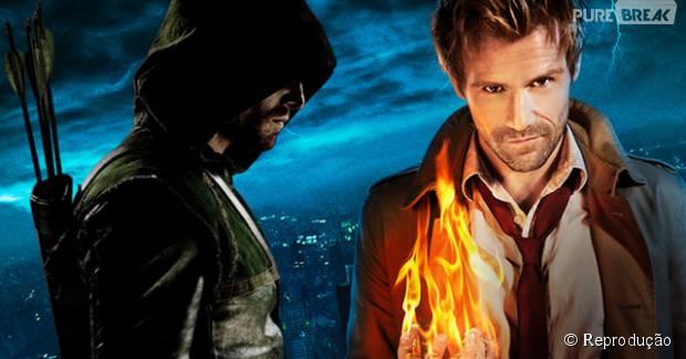 """Séries """"Constantine"""" e """"Arrow"""" terão crossover"""