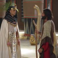 """De """"Os Dez Mandamentos"""": Móises (Guilherme Winter) e Ramsés (Sérgio Marone) se reencontram no Egito!"""