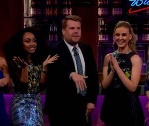 "Meninas do Little Mix falam sobre Zayn Malik e Taylor Swift no ""The Late Late Show"""