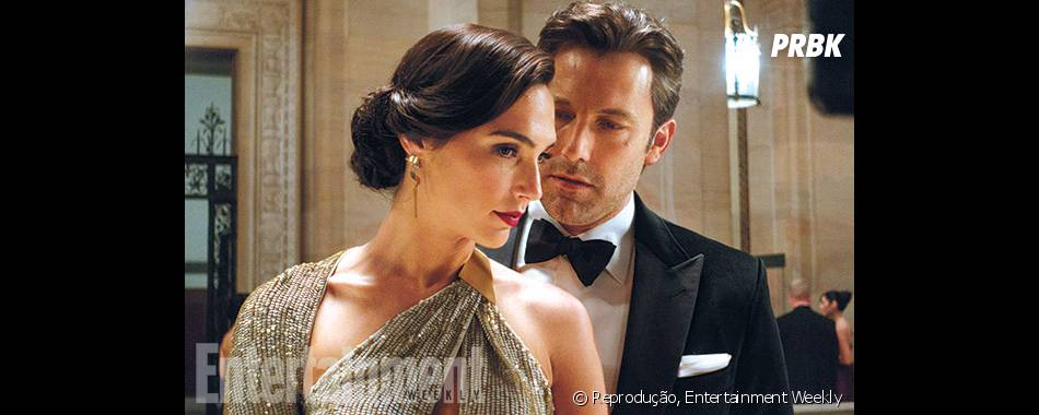 "Gal Gadot contracena com Ben Affleck em ""Batman V Superman: A Origem da Justiça"""