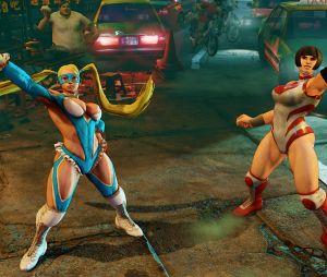 Rainbow Mika chama sua companheiraNadeshiko para lutar ao seu lado