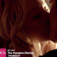 "A 6ª temporada de ""The Vampire Diaries"" foi marcada pelo beijo de Stefan (Paul Wesley) eCaroline (Candice Accola)"