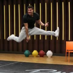 """Arthur Aguiar, da """"Dança dos Famosos 2015"""", faz manobras radicais durante ensaios para o quadro!"""