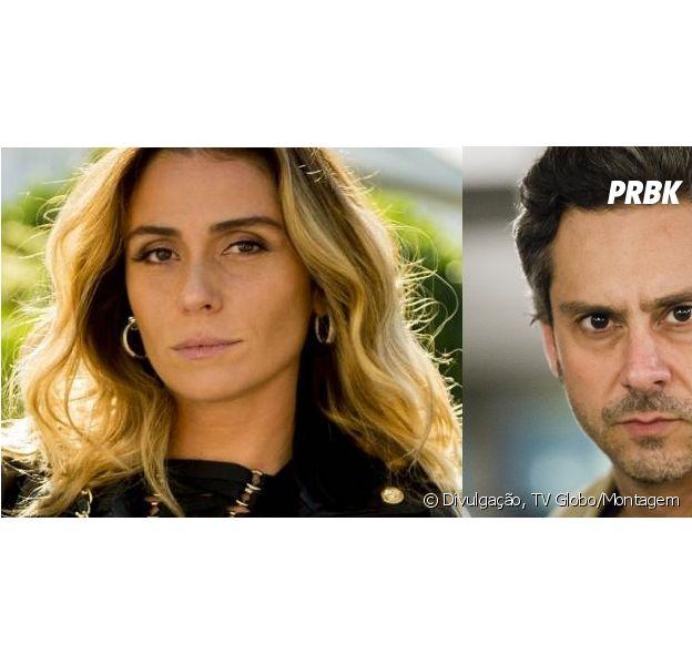 """Em """"A Regra do Jogo"""": veja características de Atena (Giovanna Antonelli), Romero Rômulo (Alexandre Nero) e Tóia (Vanessa Giácomo)"""
