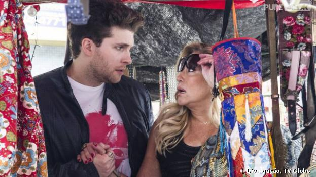 """Niko (Thiago Fragoso) levará Pilar (Susana Vieira) para ver Félix (Mateus Solano) vendendo hot-dog e ela ficará chocada em""""Amor à Vida""""!"""