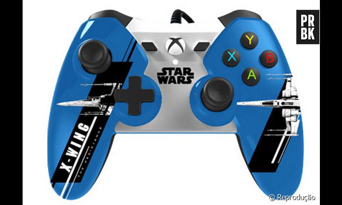 Xbox One E Star Wars Vii Controles Oficiais Com Tema De O