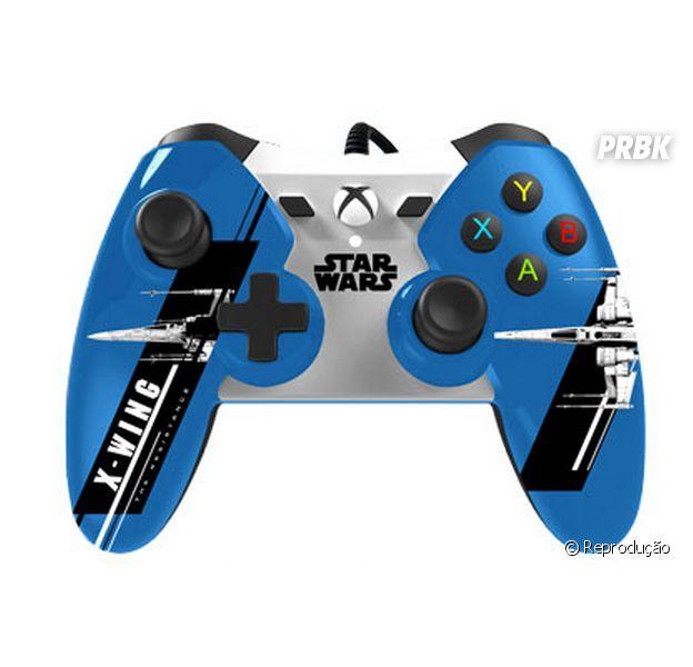 """Controle do Xbox One terá o desenho da nave icônica de """"Star Wars VII"""""""