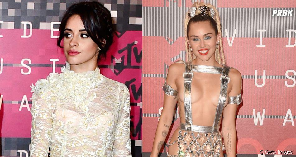 Camila Cabello, do Fifth Harmony, admira Miley Cyrus e explica o motivo
