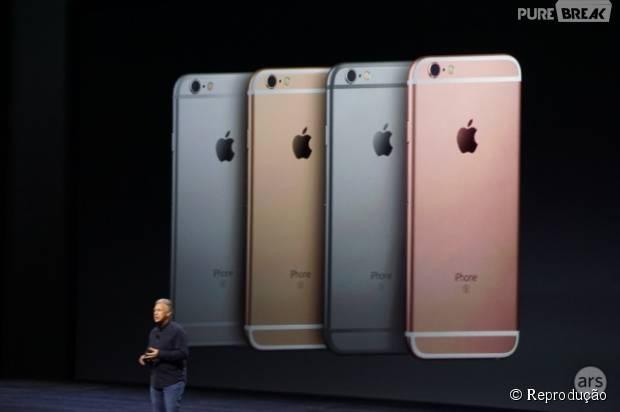Conferência da Apple divulga cores do Iphone 6S