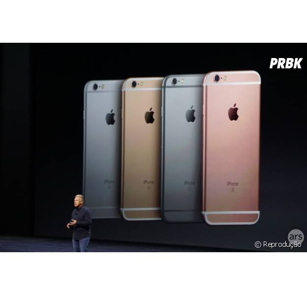 Conferência da Apple divulga cores do Iphone 6S