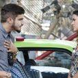 """Grego (Caio Castro) em briga com Mari (Bruna Marquezine) em """"I Love Paraisópolis"""""""