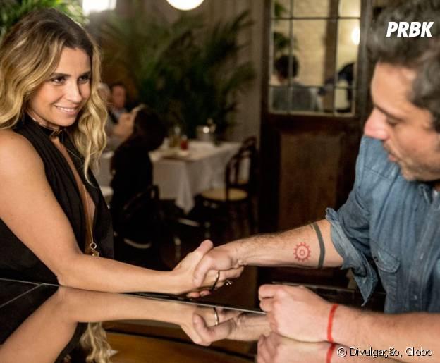 """Em """"A Regra do Jogo"""": Atena (Giovanna Antonelli) rouba dinheiro de Romero (Alexandre Nero)!"""