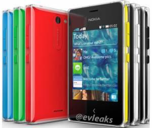 Linha Asha é colorida como o Lumia