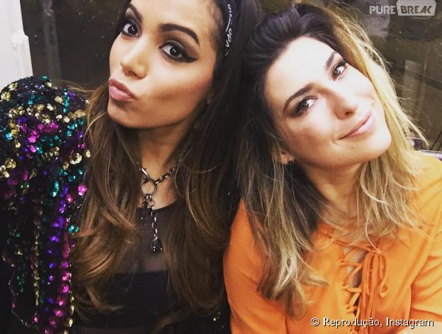 Anitta e Fernanda Paes Leme curtem muito o primeiro final de semana do Rock in Rio 2015