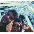 Maurício Destri fez selfie com Fernanda Paes Leme no Rock in Rio 2015