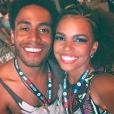 Jeniffer Nascimento e Ícaro Silva se divertiram e trabalharam muito no Rock in Rio 2015