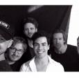 Sam Alves realizou o sonho de conhecer os caras do One Republic primeiro final de semana do Rock in Rio 2015