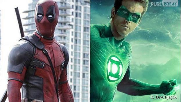 Ryan Reynolds, que já interpretou o Lanterna Verde no cinema, está se preparando para aparecer como o Deadpool em seu primeiro filme solo