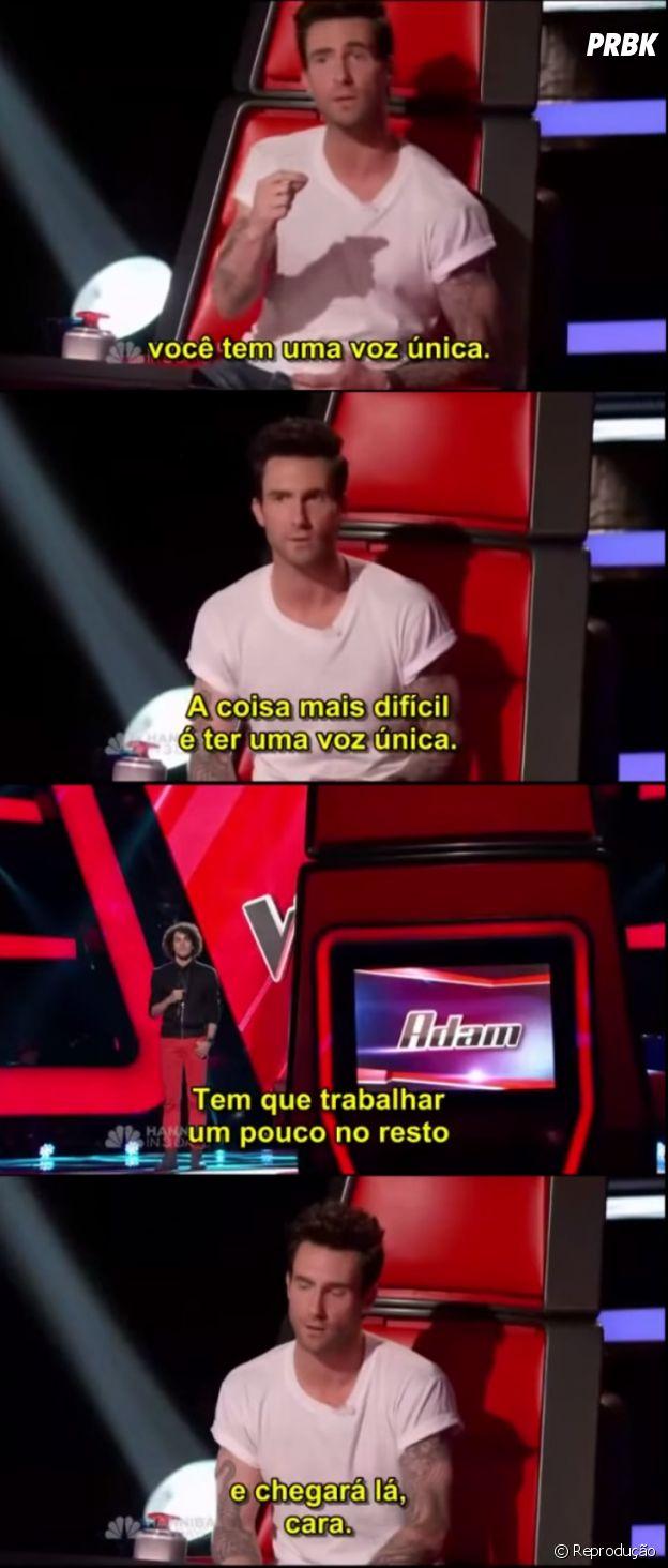 Sam Alves ganha elogio de Adam Levine durante participação no The Voice USA