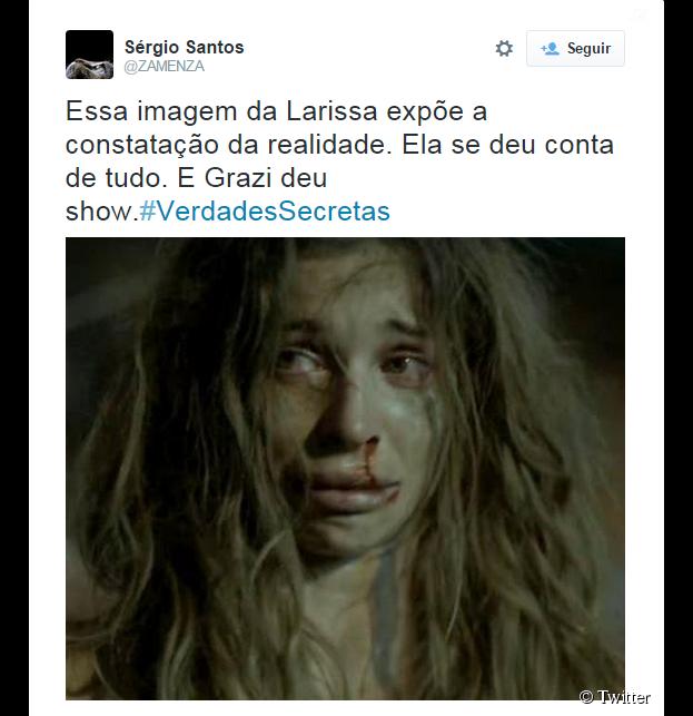 """Grazi Massafera se consagrou como atriz na novela """"Verdades Secretas"""", da Globo"""
