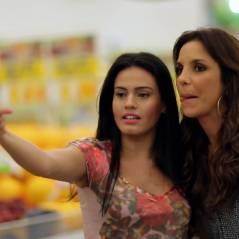 """Ivete Sangalo no """"Porta dos Fundos""""! Cantora é assediada por fã em mercado"""
