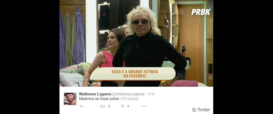"""Até a Madonna foi lembrada na estreia de """"A Fazenda 8"""", da Record"""