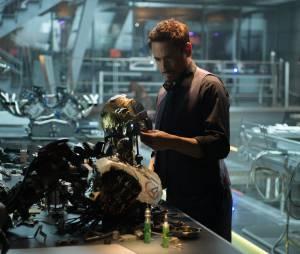 """Robert Downey Jr. interpreta o Homem de Ferro, em """"Os Vingadores 2: Era de Ultron"""""""