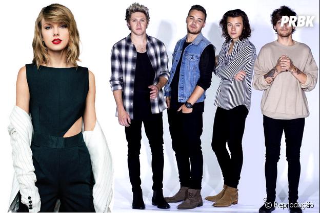 """Taylor Swift e One Direction deveriam selar a paz em show da """"1989 World Tour"""""""