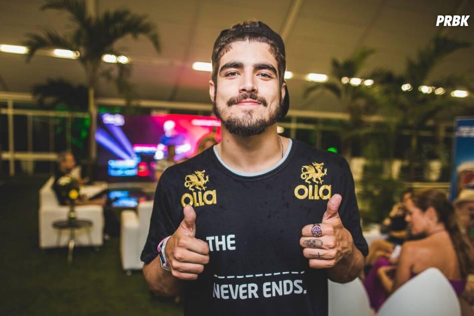 Caio Castro curtiu praticamente todos os dias do Rock in Rio 2015