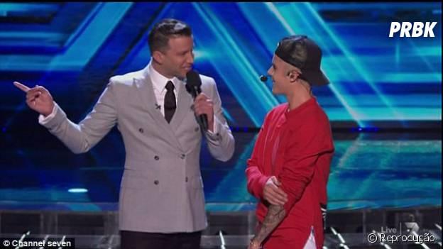 """Justin Bieber fala sobre o novo CD após apresentação no """"The X Factor"""""""