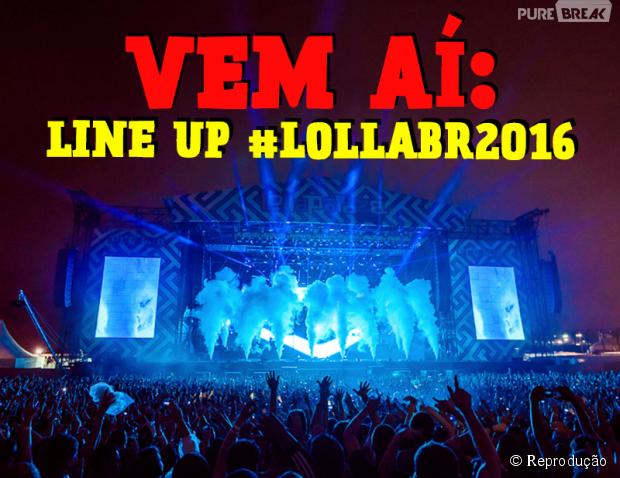 Lollapalooza 2016: Atrações serão anunciadas no dia 6 de outubro