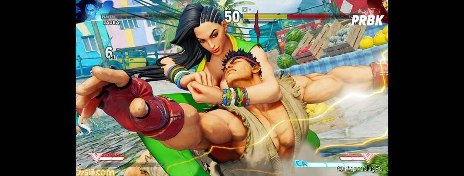 """Game """"Street Fighter V"""" terá nova personagem apresentada na BGS 2015"""