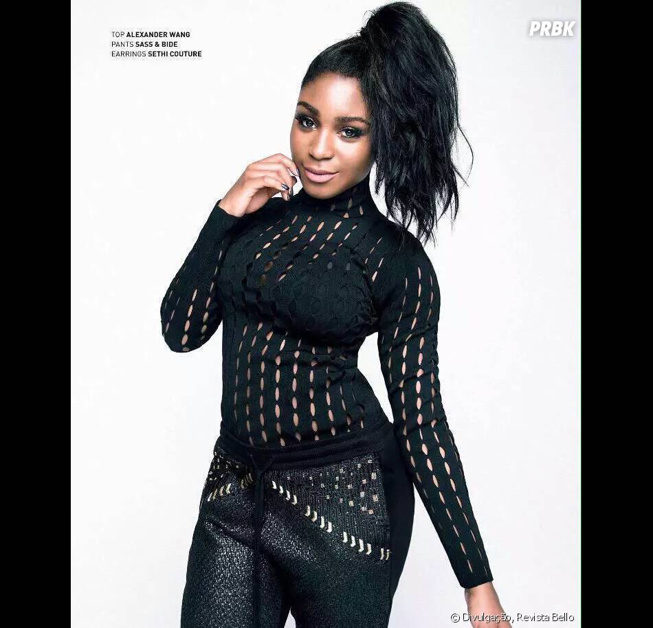 Sempre sexy no Fifth Harmony, Normani Kordei fez um ensaio cheio de atitude