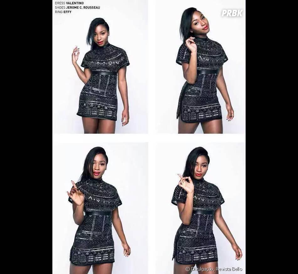 Normani Kordei foi a primeira integrante do Fifth Harmony a estampar uma capa de revista sozinha!