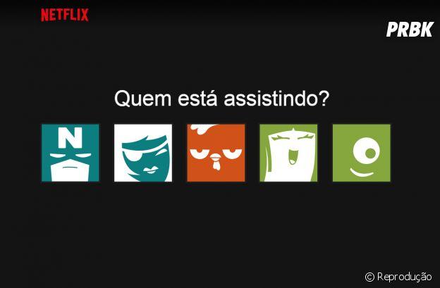 Netflix é um dos aplicativos que você pode compartilhar com os seus amigos ou família
