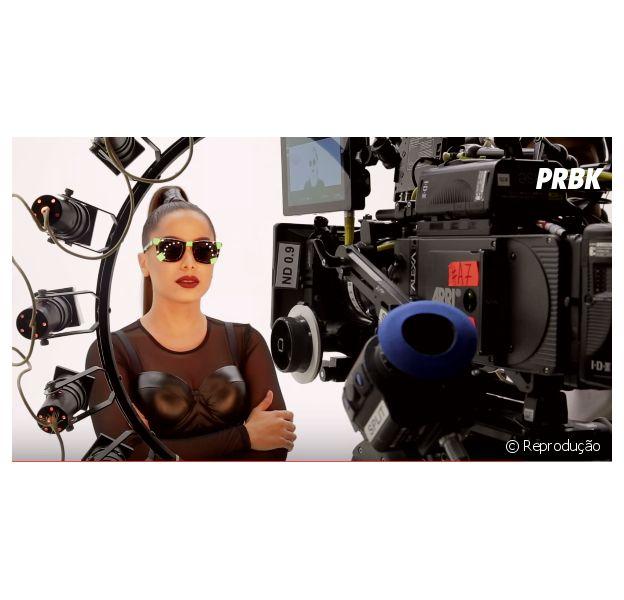 "Anitta libera vídeo com bastidores do clipe de ""Bang"""