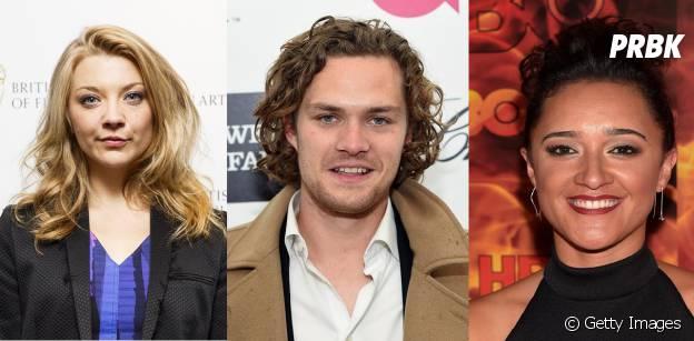 """Em """"Game of Thrones"""": Natalie Dormer (Maraery Tyrell), Finn Jones (Loras Tyrell) e Keisha Castle-Hughes (Obara Sand) falam sobre 6ª temporada da série!"""