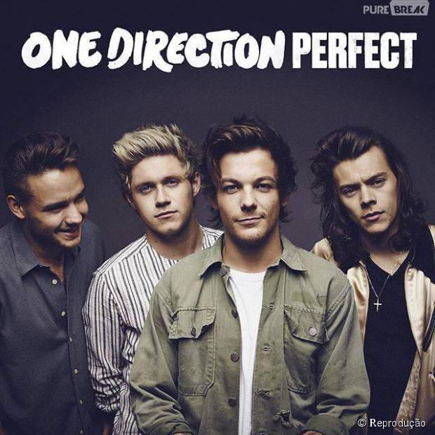 """One Direction define data de lançamento oficial para o single """"Perfect"""""""