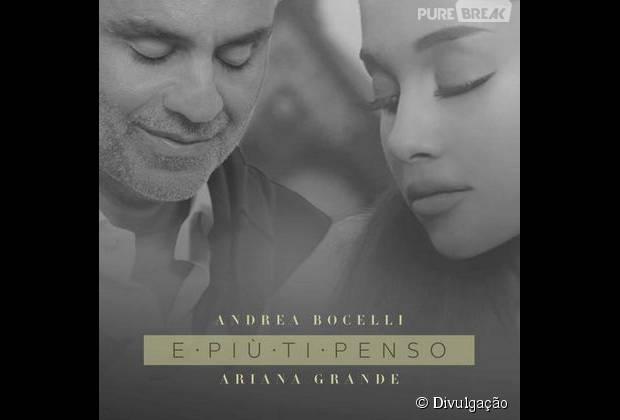 """Ariana Grande lança clipe de """"E Più Ti Penso"""", com Andrea Bocelli"""