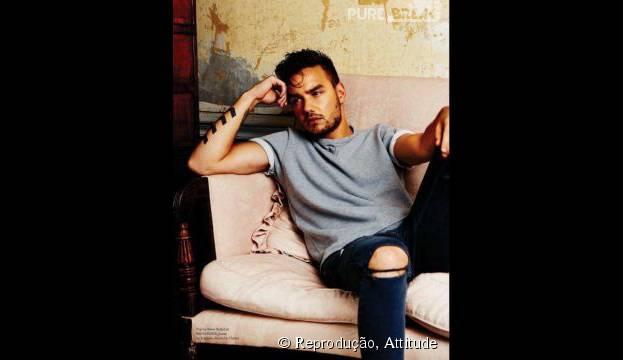 """Liam Payne, do One Direction, foi eleito por leitores da revista """"Attitude"""" como homem mais sexy do mundo"""