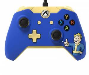 """Controle oficial de Xbox One com tema de """"Fallout 4"""""""