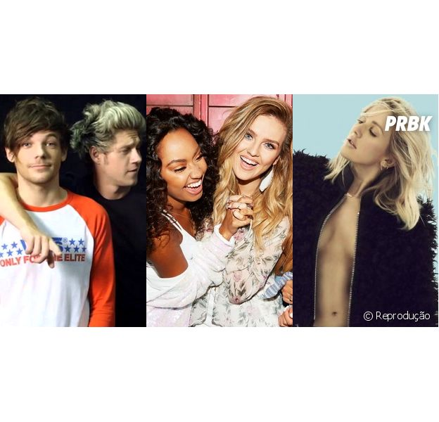 No BBC Music Awards 2015,One Direction, Little Mix e Ellie Goulding têm shows confirmados