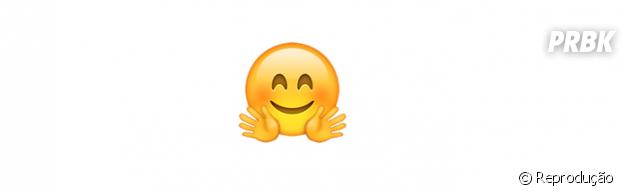 Significado dos emojis: abraço