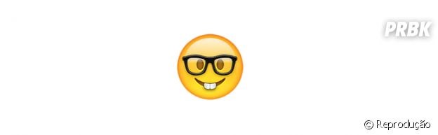 Significado dos emojis: Nerd