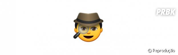 Significado dos emojis: espião
