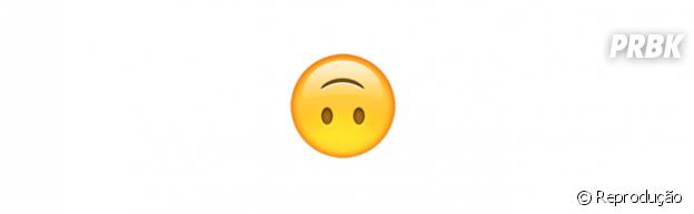 Significado dos emojis: de cabeça pra baixo
