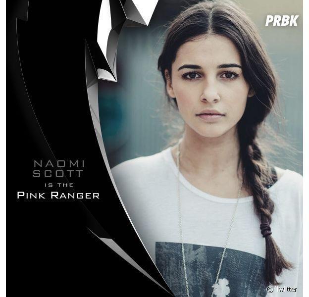 """Naomi Scott, de """"Perdido em Marte"""", vai interpretar a Ranger Rosa no novo """"Power Rangers"""""""